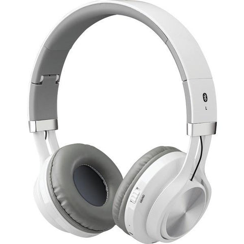 ILIVE IAHB56W Bluetooth Headphones with Microphone (White) - Peazz.com