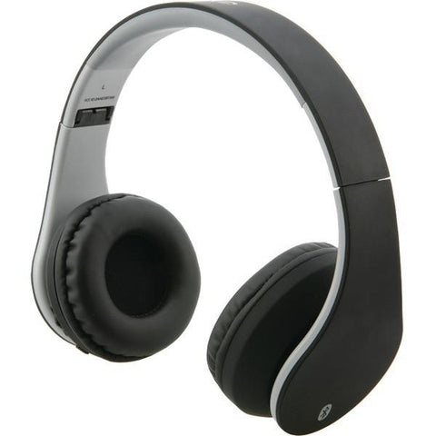 ILIVE IAHB64MB Bluetooth Headphones with Auxiliary Input (Matte Black) - Peazz.com