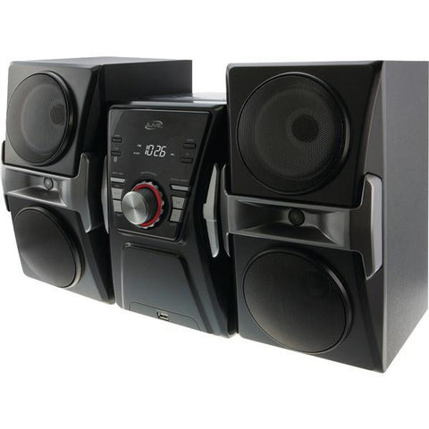 iLIVE IHB624B Bluetooth Home Music System with FM Tuner & LED Lights - Peazz.com