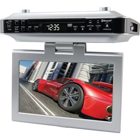 iLIVE iKTD1016S Under-Cabinet Bluetooth DVD/CD Player - Peazz.com