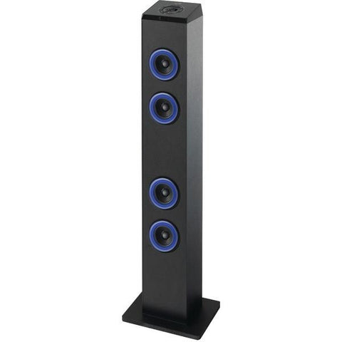 iLive Blue ITB124B Bluetooth Tower with LED Lights - Peazz.com