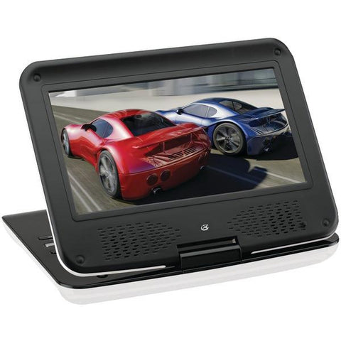 "GPX PD901W 9"" Portable DVD Player - Peazz.com"