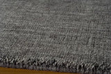 "Momeni GRAMEGM-12CHR96D6 INDIAN HAND LOOMED Collection Charcoal Finish Rugs 9'6""X13'6"""