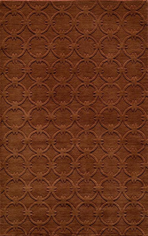 Momeni GRAMEGM-13COP3656 INDIAN HAND LOOMED Gramercy Collection Copper Finish Rugs