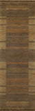 "Momeni GRAMEGM-15BRN96D6 INDIAN HAND LOOMED Collection Brown Finish Rugs 9'6""X13'6"""
