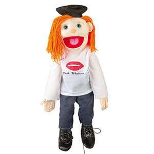 "28"" Yeah Whatever! Girl Puppet"