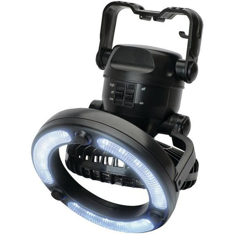 Cyclops CYC-FANLED 18-LED Portable Fan Light - Peazz.com