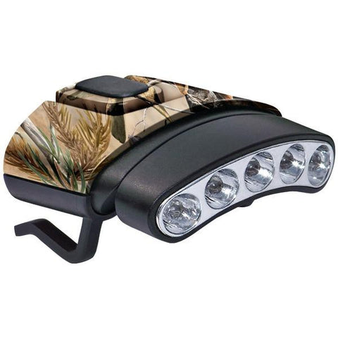 Cyclops CYC-HCDT-WGNXT 30-Lumen Tilt 5 LED Hat Clip Light (Camo) - Peazz.com