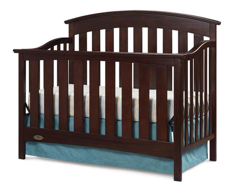 Graco 04550-014 Arlington Convertible Crib-Cherry - Peazz.com