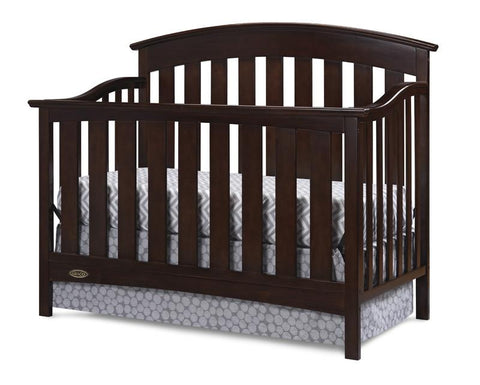 Graco 04550-019 Arlington Convertible Crib-Espresso - Peazz.com