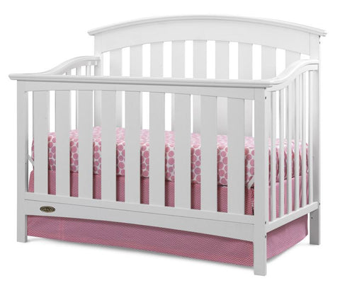 Graco 04550-011 Arlington Convertible Crib-White - Peazz.com