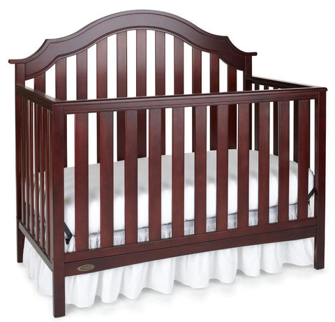 Graco 04540-624 Addison Convertible Crib-Cherry - Peazz.com
