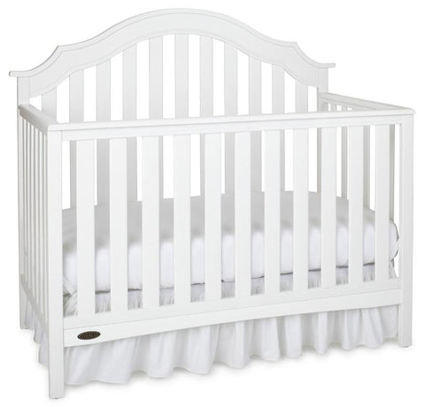 Graco 04540-621 Addison Convertible Crib-White - Peazz.com