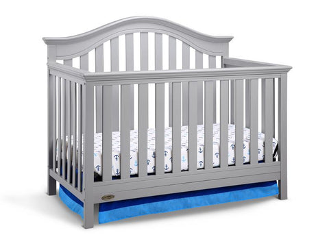 Graco 04540-67F Bryson Convertible Crib-Pebble Gray (Dom) - Peazz.com