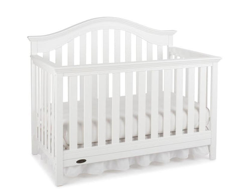 Graco 04540-671 Bryson Convertible Crib-White (Dom) - Peazz.com