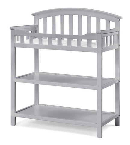 Graco 00524-36F Arlington Change Table-Pebble Gray - Peazz.com