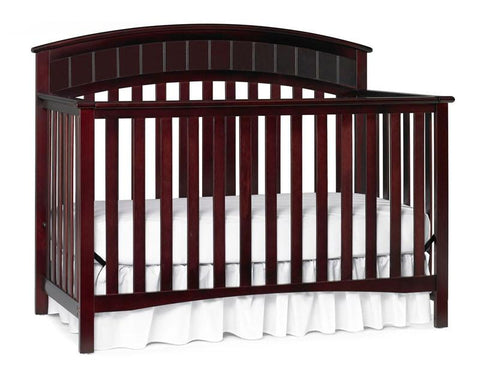 Graco 04540-534 Charleston Convertible Crib-Cherry - Peazz.com