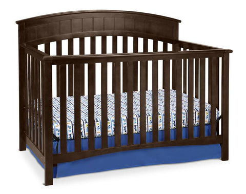 Graco 04540-539 Charleston Convertible Crib-Espresso - Peazz.com