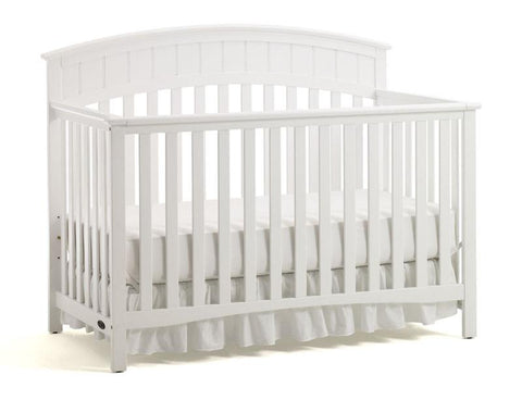 Graco 04540-531 Charleston Convertible Crib-White - Peazz.com
