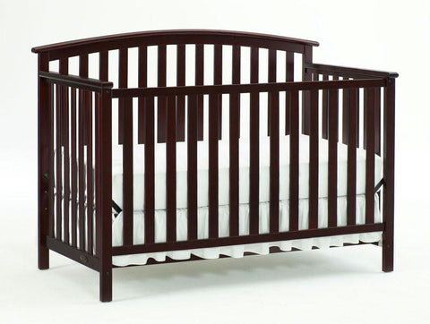 Graco 04520-474 Freeport Convertible Crib-Cherry - Peazz.com