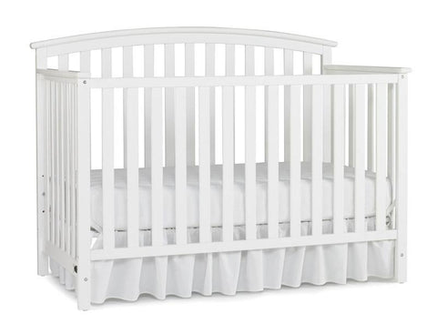 Graco 04520-471 Freeport Convertible Crib-White - Peazz.com