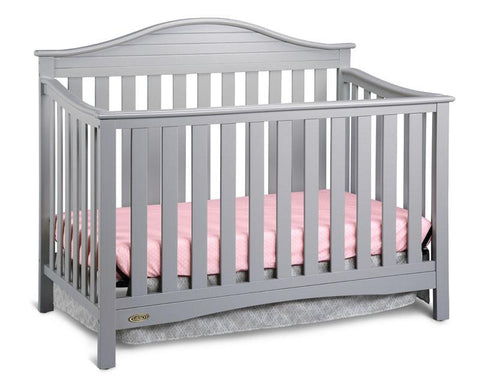 Graco 04540-51F Harbor Light Convertible Crib-Pebble Gray - Peazz.com