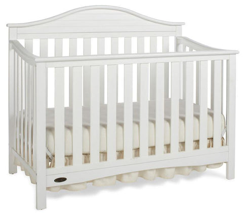 Graco 04540-511 Harbor Light Convertible Crib-White - Peazz.com