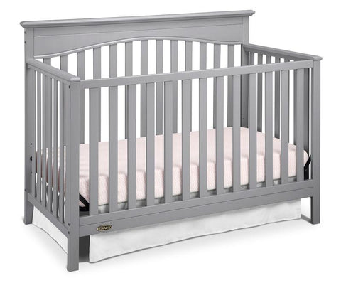 Graco 04530-45F Hayden Convertible Crib-Pebble Gray - Peazz.com