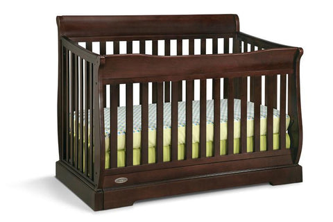 Graco 04560-149 Maple Ridge Convertible Crib-Espresso (Dom) - Peazz.com