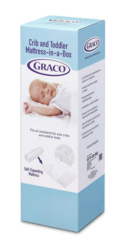 Graco 06710-400 Premium Foam Crib And Toddler Mattress - Peazz.com