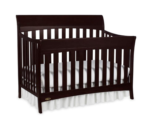 Graco 04540-469 Rory Convertible Crib-Espresso - Peazz.com