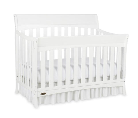 Graco 04540-461 Rory Convertible Crib-White - Peazz.com