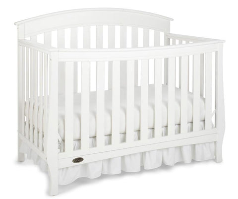 Graco 04540-341 Suri Convertible Crib-White (Dom) - Peazz.com