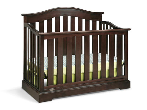 Graco 04550-049 Westbrook Convertible Crib-Espresso (Dom) - Peazz.com