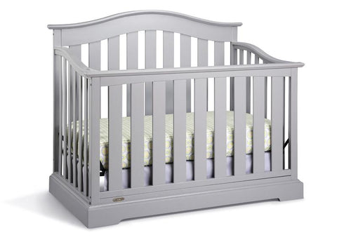 Graco 04550-04F Westbrook Convertible Crib-Pebble Gray - Peazz.com