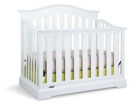Graco 04550-041 Westbrook Convertible Crib-White (Dom) - Peazz.com