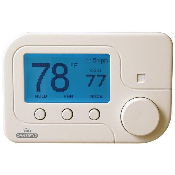 Leviton RC-2000WH Multistage Omnistat2 with Humidity Control for Conventional & Heat Pump Systems (White)