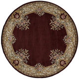 Momeni HARMOHA-07BUR5080 Chinese Hand Tufted Collection Burgundy Finish Rugs 5'X8'