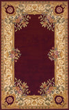 Momeni HARMOHA-07BUR2030 Chinese Hand Tufted Harmony Collection Burgundy Finish Rugs