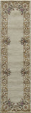 Momeni HARMOHA-07IVY80B0 Chinese Hand Tufted Collection Ivory Finish Rugs 8'X11'