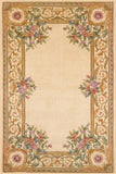 Momeni HARMOHA-07IVY80B0 Chinese Hand Tufted Harmony Collection Ivory Finish Rugs