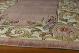 "Momeni HARMOHA-07RSE3656 Chinese Hand Tufted Collection Rose Finish Rugs 3'6""X5'6"""