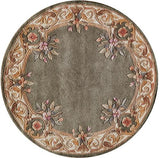 "Momeni HARMOHA-07SAG790R Chinese Hand Tufted Collection Sage Finish Round 7'9""X7'9""Round"