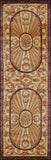 "Momeni HARMOHA-15BUR26C0 Chinese Hand Tufted Collection Burgundy Finish Runner 2'6""X12'"