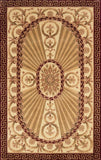 Momeni HARMOHA-15BUR26C0 Chinese Hand Tufted Harmony Collection Burgundy Finish Runner