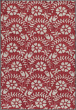 Momeni HAVANHV-10RED2380 Chinese Hand Tufted Havana Collection Red Finish Runner