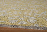 Momeni HAVANHV-10YEL5076 Chinese Hand Tufted Collection Yellow Finish Rugs 5'X7'6""
