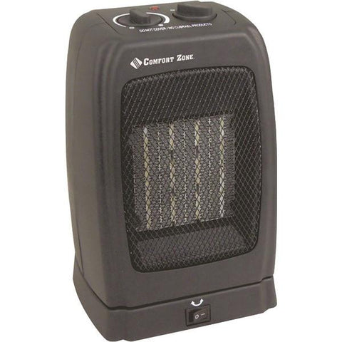 Comfort Zone CZ448 Standard Oscillating Heater/Fan - Peazz.com