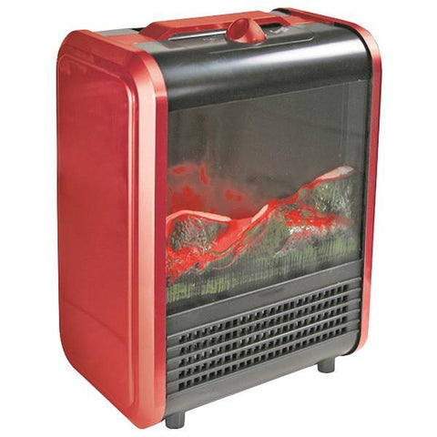 Comfort Zone CZFP1 Mini Electric Fireplace - Peazz.com