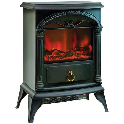 "Comfort Zone CZFP4 21.5"" Fireplace Electric Stove - Peazz.com"